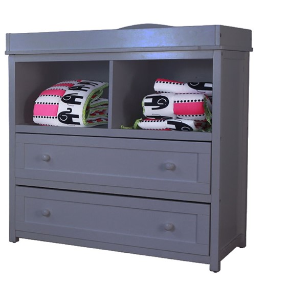 AFG Baby Furniture Leila Gray Two Drawers Changer AFG-008G