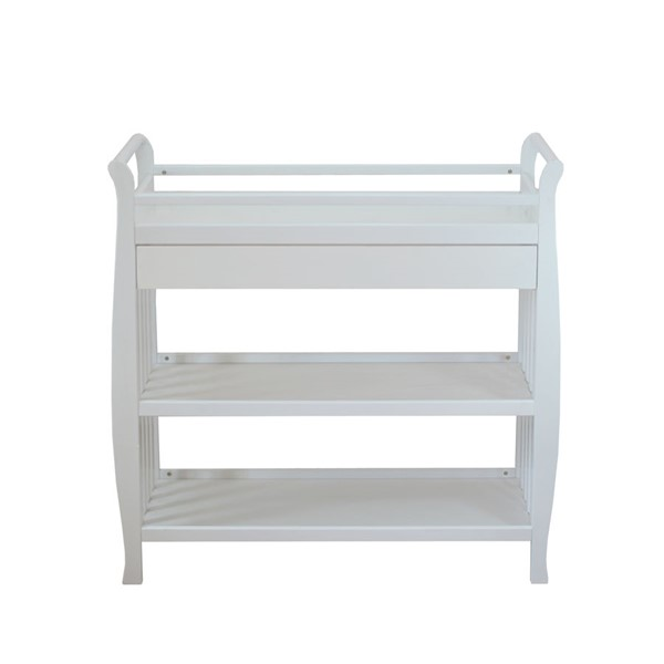 AFG Baby Furniture Nadia White Changing Table AFG-3353W