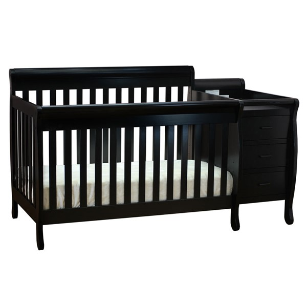 AFG Baby Furniture Kimberly Convertible Cribs and Changer AFG-515-CRB-VAR
