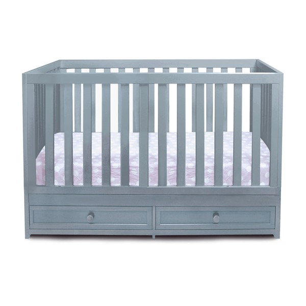 AFG Baby Furniture Marilyn Gray 3 In 1 Convertible Crib AFG-668G