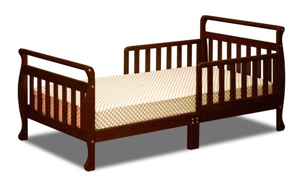 AFG Baby Furniture Anna Espresso Toddler Bed AFG-7008E