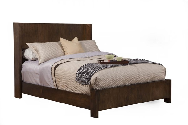 Alpine Furniture Austin Chestnut Cal King Panel Bed ALPN-1600-07CK
