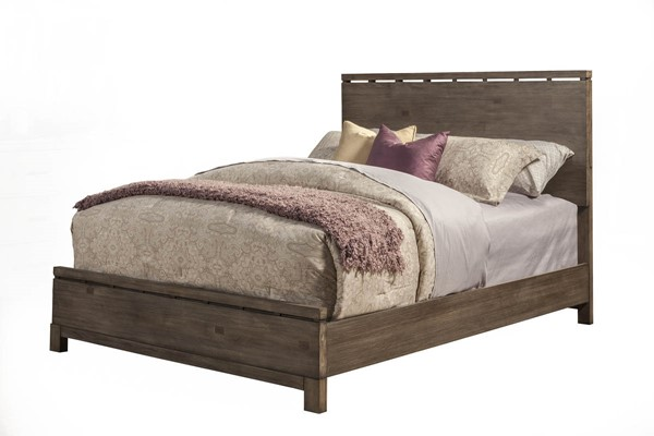 Alpine Furniture Sydney Weathered Grey Queen Bed ALPN-1700-01Q