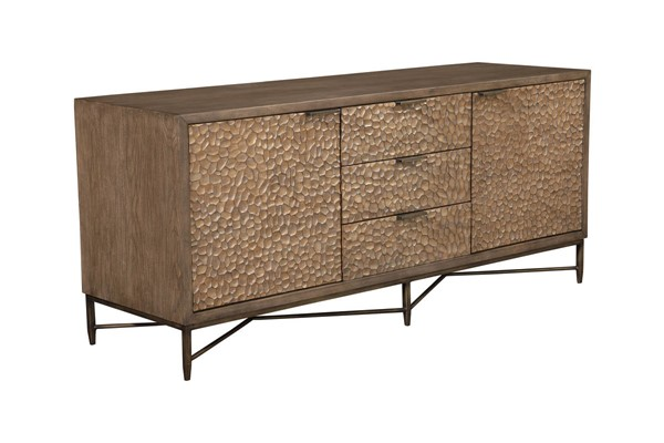 Alpine Furniture Pearl Borwn Brown TV Console ALPN-1859-10