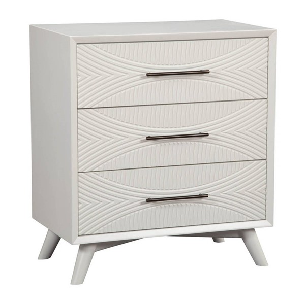Alpine Furniture Tranquility White Small Chest ALPN-1867-04