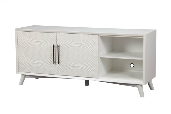 Alpine Furniture Tranquility White TV Console ALPN-1867-10