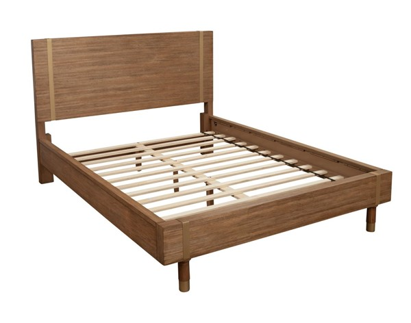 Alpine Furniture Easton Sand Platform Beds ALPN-2088-BED-VAR