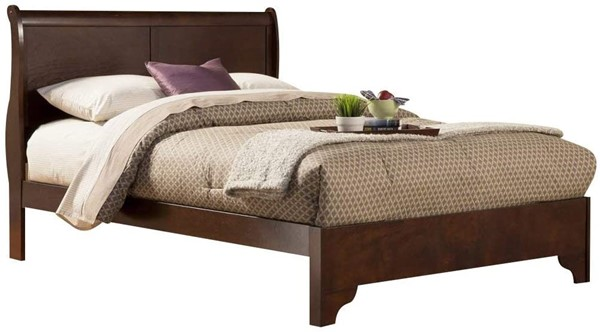 Alpine Furniture West Haven Cappuccino Full Bed ALPN-2200F