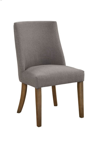 2 Alpine Furniture Kensington Dark Grey Parson Chairs ALPN-2668-12