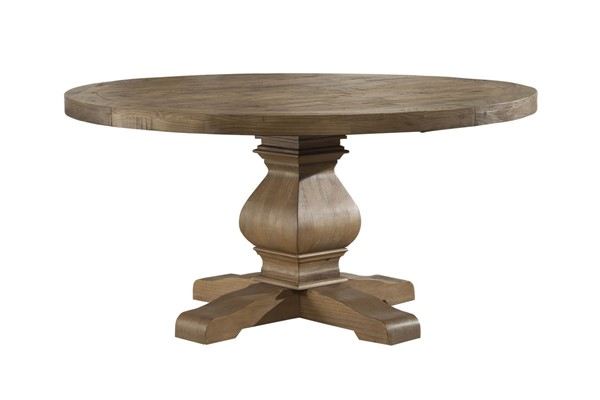 Alpine Furniture Kensington Natural Round Dining Table ALPN-2668-25