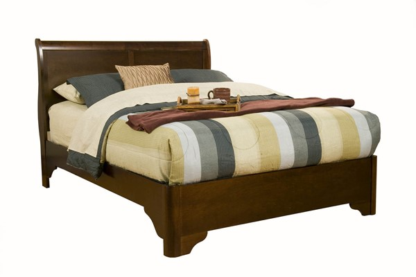 Alpine Furniture Chesapeake Cappuccino Full Bed ALPN-3200F