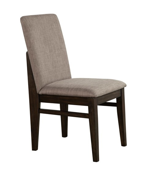 2 Alpine Furniture Olejo Chocolate Side Chairs ALPN-3315-02