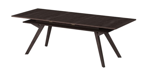 Alpine Furniture Lennox Dark Tobacco Extension Dining Table ALPN-5164-01