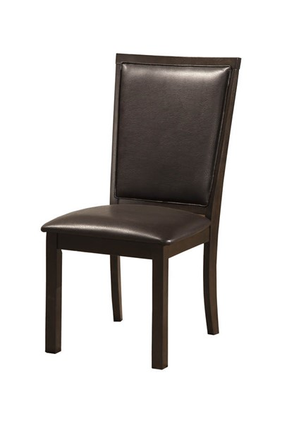 2 Alpine Furniture Davenport Espresso Side Chairs ALPN-5478-02