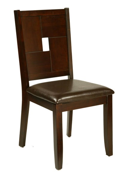 2 Alpine Furniture Lakeport Espresso Side Chairs ALPN-551-02