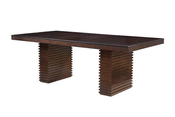 Alpine Furniture Trulinea Dark Espresso Dining Table ALPN-6084-01