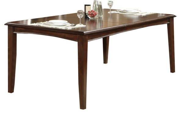 Alpine Furniture Bradbury Cappuccino Extension Dining Table ALPN-637-21