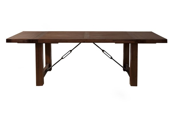 Alpine Furniture Pierre Antique Cappuccino Dining Table ALPN-8104-01