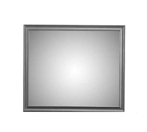 Alpine Furniture Lorraine Dark Grey Mirror ALPN-8171-06
