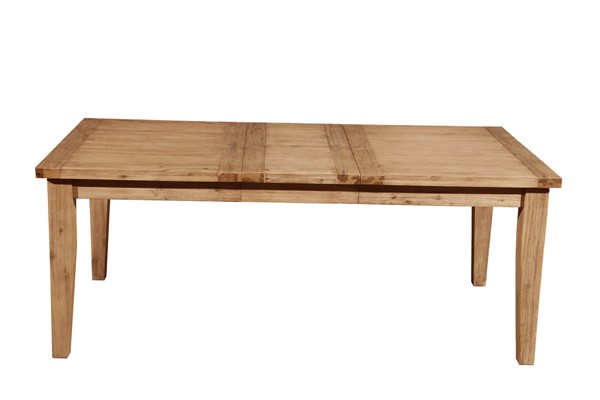 Alpine Furniture Aspen Antique Natural Extension Dining Table ALPN-8812-01