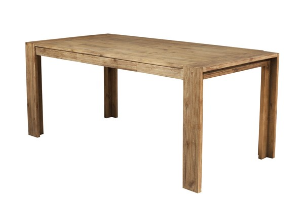 Alpine Furniture Seashore Antique Natural Dining Table ALPN-8868-01