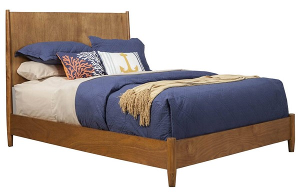 Alpine Furniture Flynn Acorn King Panel Bed ALPN-966-07EK