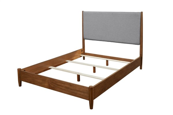 Alpine Furniture Flynn Acorn Grey Full Platform Bed ALPN-999-08F