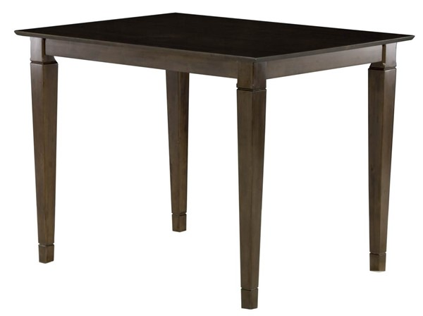 Montego Bay Antique Walnut Solid Top Dining Table AD781314