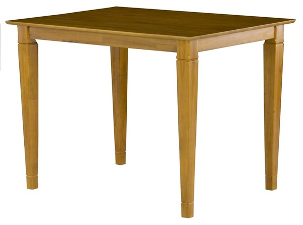 Montego Bay Caramel Latte Pub Table w/Solid Wood Top AD781327