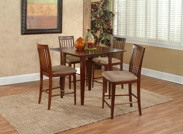 Atlantic Furniture Montreal Brown Montreal Dining Tables AD783211-14-17-DT-VAR