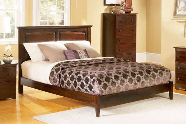 Atlantic Furniture Monterey Antique Walnut Open Footrail Full Bed AP8631004