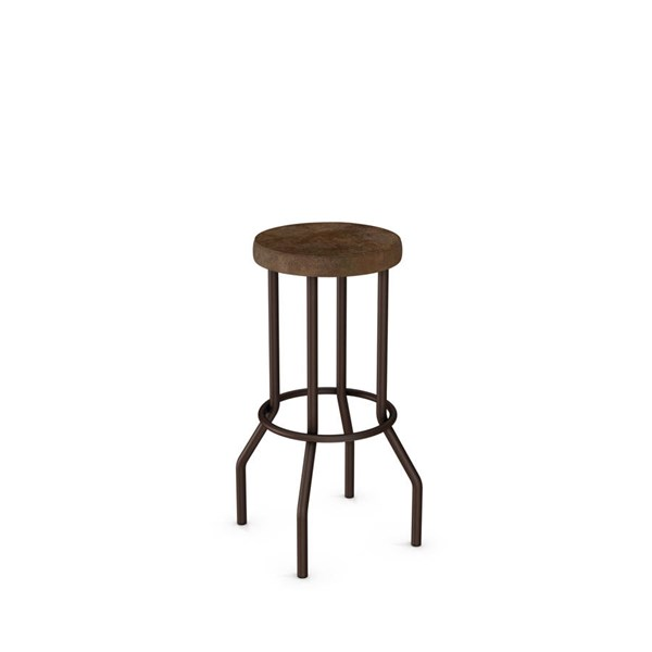 Claw Non Swivel Stools (Upholstered Seat) AMC-40400-BS-VAR