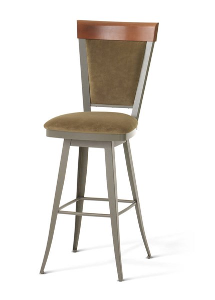 Eleanor Swivel 30 Inch Stool (Solid Wood Accent) AMC-41410-30-MFW