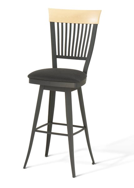 Annabelle Swivel 34 Inch Stool (Solid Wood Accent) AMC-41419-34-MFW