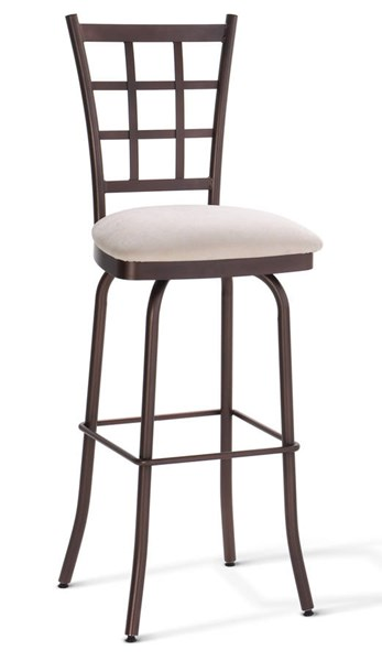 Jamie Swivel Stools (Upholstered Seat) AMC-41469-BS-VAR