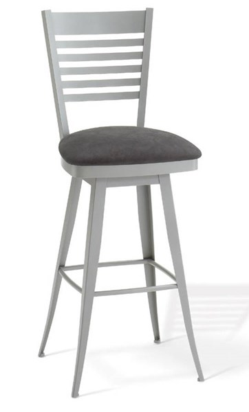 Edwin Swivel 26 Inch Stool (Upholstered Seat) AMC-41498-26-MF