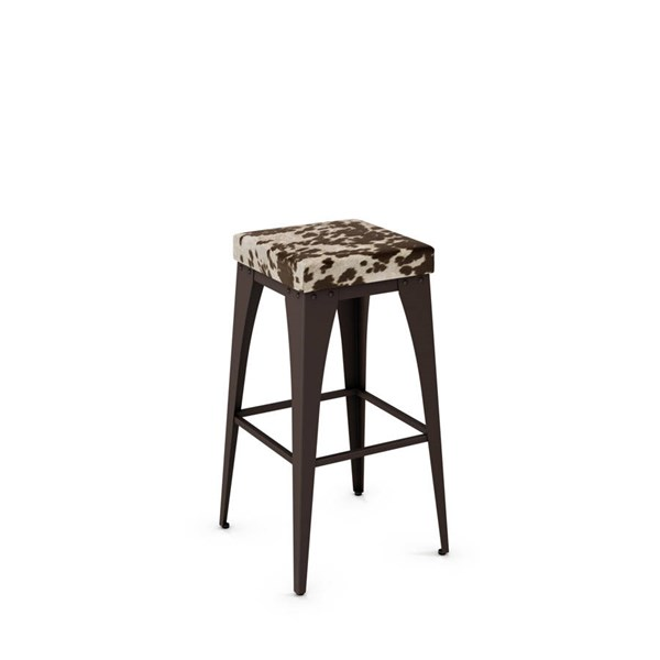 Upright Non Swivel 30 Inch Stool (Upholstered Seat) AMC-42564-30-MF