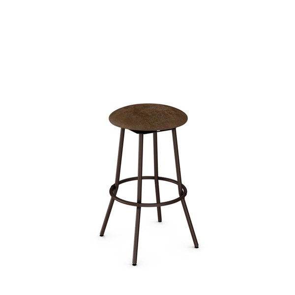 Bluffton Swivel 26 Inch Stool (Upholstered Seat) AMC-42565-26-MF
