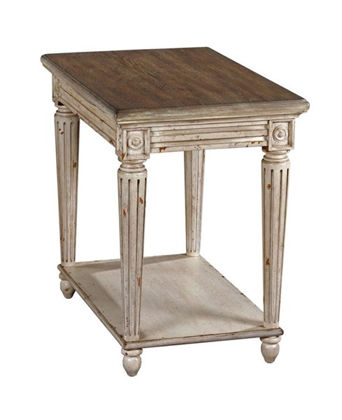 American Drew Southbury Fossil Parchment Charging Chairside Table AMDRW-513-918