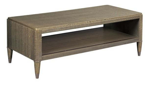 American Drew Ad Modern Classics Espresso Stain Gray Oak Hyde Rectangular Cocktail Table AMDRW-603-910