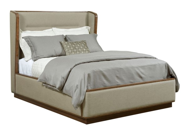 American Drew Ad Modern Synergy Walnut Ambrosia Maple Astro King Upholstered Bed AMDRW-700-306R