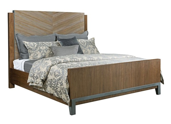 American Drew Ad Modern Synergy Ambrosia Maple Chevron Beds AMDRW-700-31R-BEDS