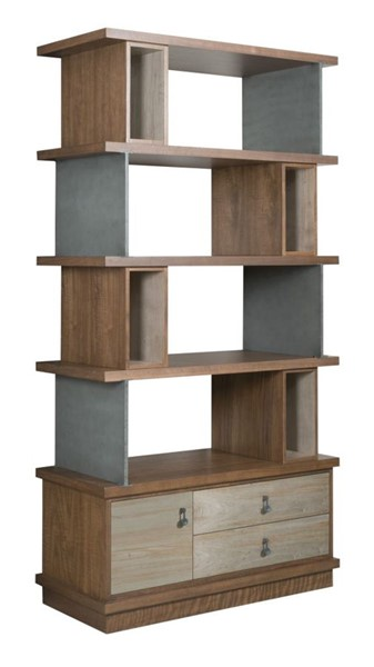 American Drew Ad Modern Synergy Walnut Ambrosia Maple Epoque Bookcase AMDRW-700-588