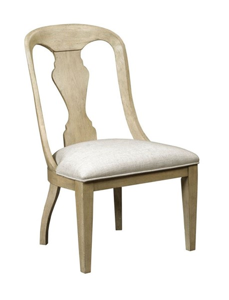 2 American Drew Litchfield Sun Washed Whitby Upholstered Side Chairs AMDRW-750-622D