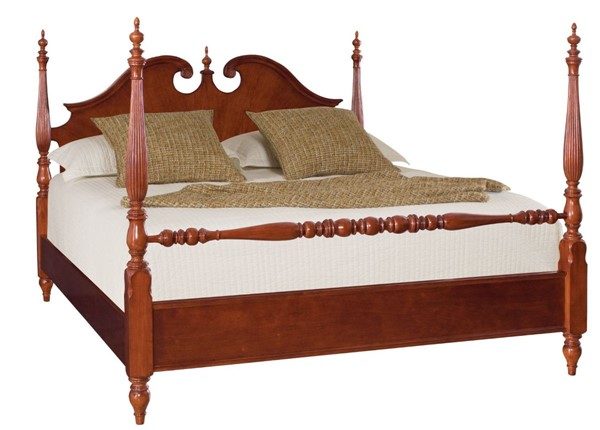 American Drew Cherry Grove Low Poster Beds AMDRW-791-38-BEDS