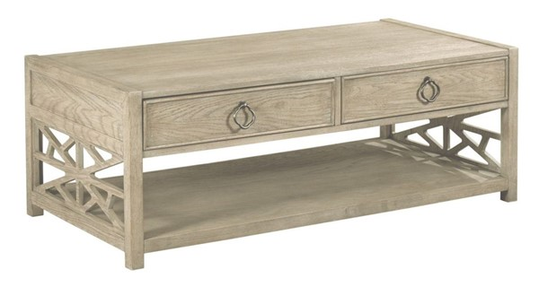 American Drew Vista Oyster Biscayne Cocktail Table AMDRW-803-910