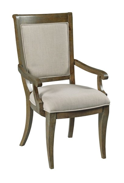 2 American Drew Anson Relic Whitby Arm Chairs AMDRW-927-637