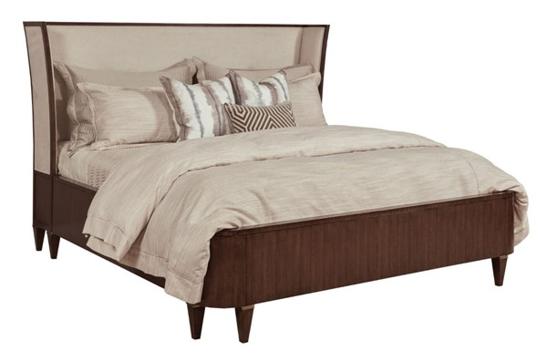 American Drew Vantage Warm Brown Morris Upholstered Beds AMDRW-929-32-BEDS