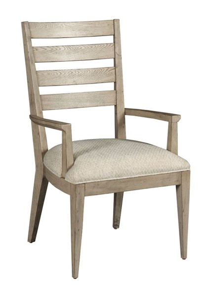 2 American Drew West Fork Aged Taupe Brinkley Arm Chairs AMDRW-924-639