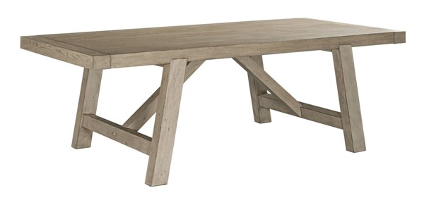 American Drew West Fork Aged Taupe Gilmore Dining Table AMDRW-924-745